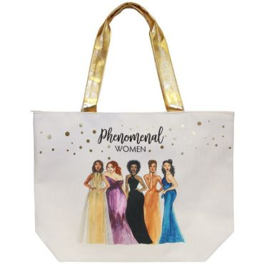 Phenomenal Women Canvas Bag
