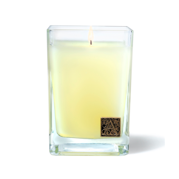Aromatique- Orange & Evergreen - Cube Candle
